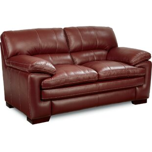 La-Z-Boy Dexter Leather Loveseat