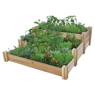 4.5 Ft X 4.0 Ft Cedar Raised Garden