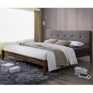 Brydon Upholstered Platform Bed by George Oliver
