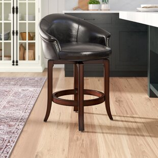 Dewall 25 Swivel Bar Stool by DarHome Co Top Reviews