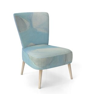 Running Water III Side Chair by East Urban Home