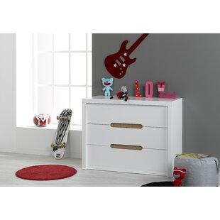 Review Barrett 3 Drawer Dresser