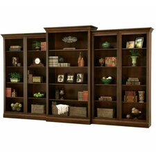 Oxford 81.75 Oversized Bookcase Set by Howard Miller