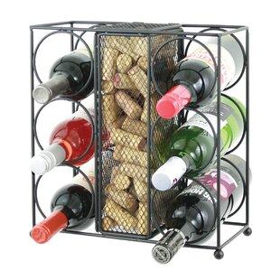 Vasquez 6 Bottle Tabletop Wine Rack by Fl..