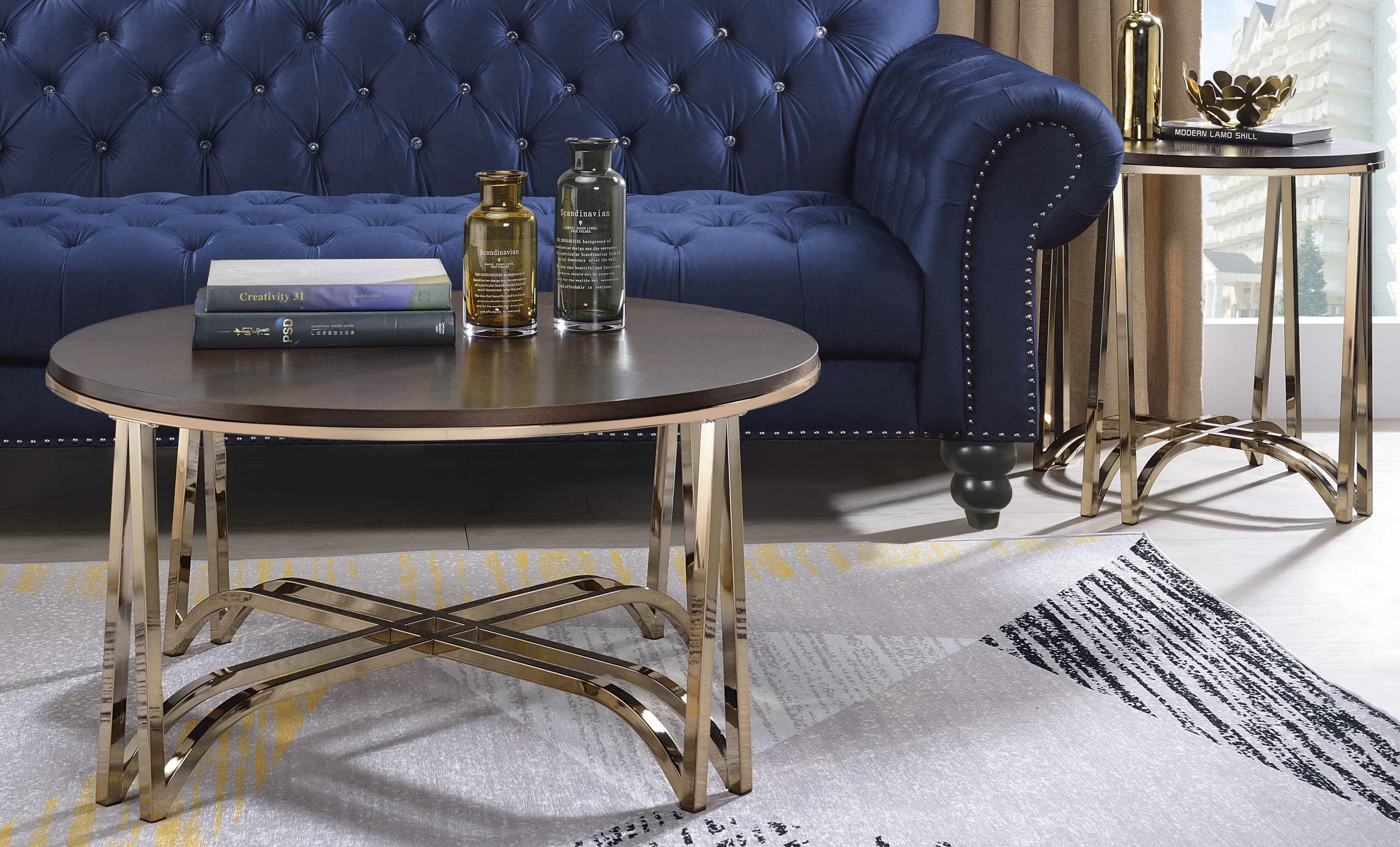 Mercer41 Malina 2 Piece Coffee Table Set Wayfair
