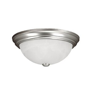 Bridwell 3-Light Flush Mount by Charlton Home