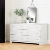 Olympia 6 Drawer Double Dresser