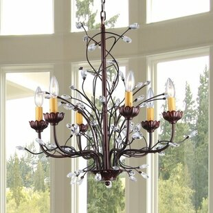 Astoria Grand Plunk 6-Light Candle Style ..