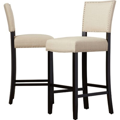 """Cleveland 30.5"""" Bar Stool by Alcott Hill"""