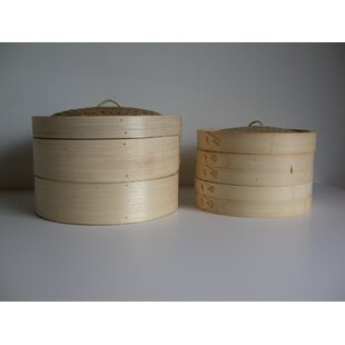 Bamboo Steamer with Lid