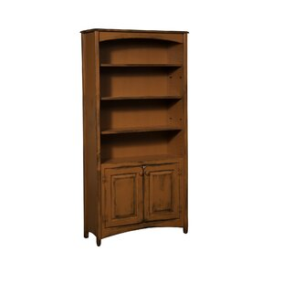 Shaws Standard Bookcase August Grove
