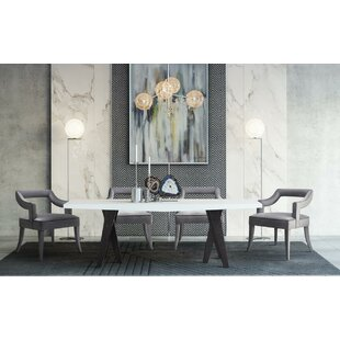 Everly Quinn Shockley 5 Piece Extendable Dining Set