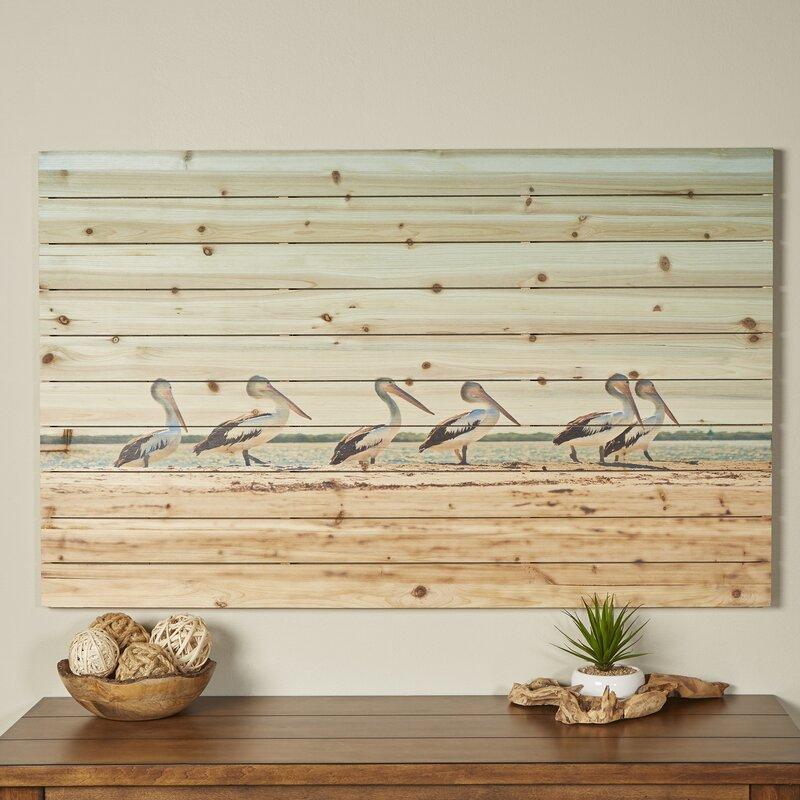 Birch Lane™ Pelican Flock Wall Art | Birch Lane