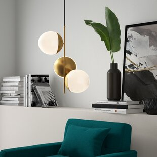 Yearby 3-Light Novelty Pendant by Mercury Row
