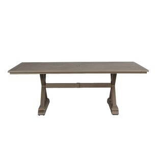 Potsdam Metal Dining Table by Gracie Oaks