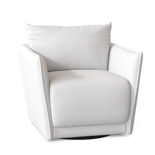 Judith Swivel Armchair by Wayfair Custom Upholstery