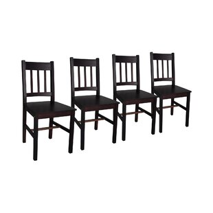 Solid Wood Dining Chair (Set Of 4) By Brambly Cottage