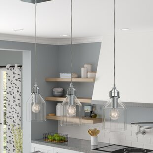 Laurel Foundry Modern Farmhouse Orofino 3-Light Kitchen Island Pendant