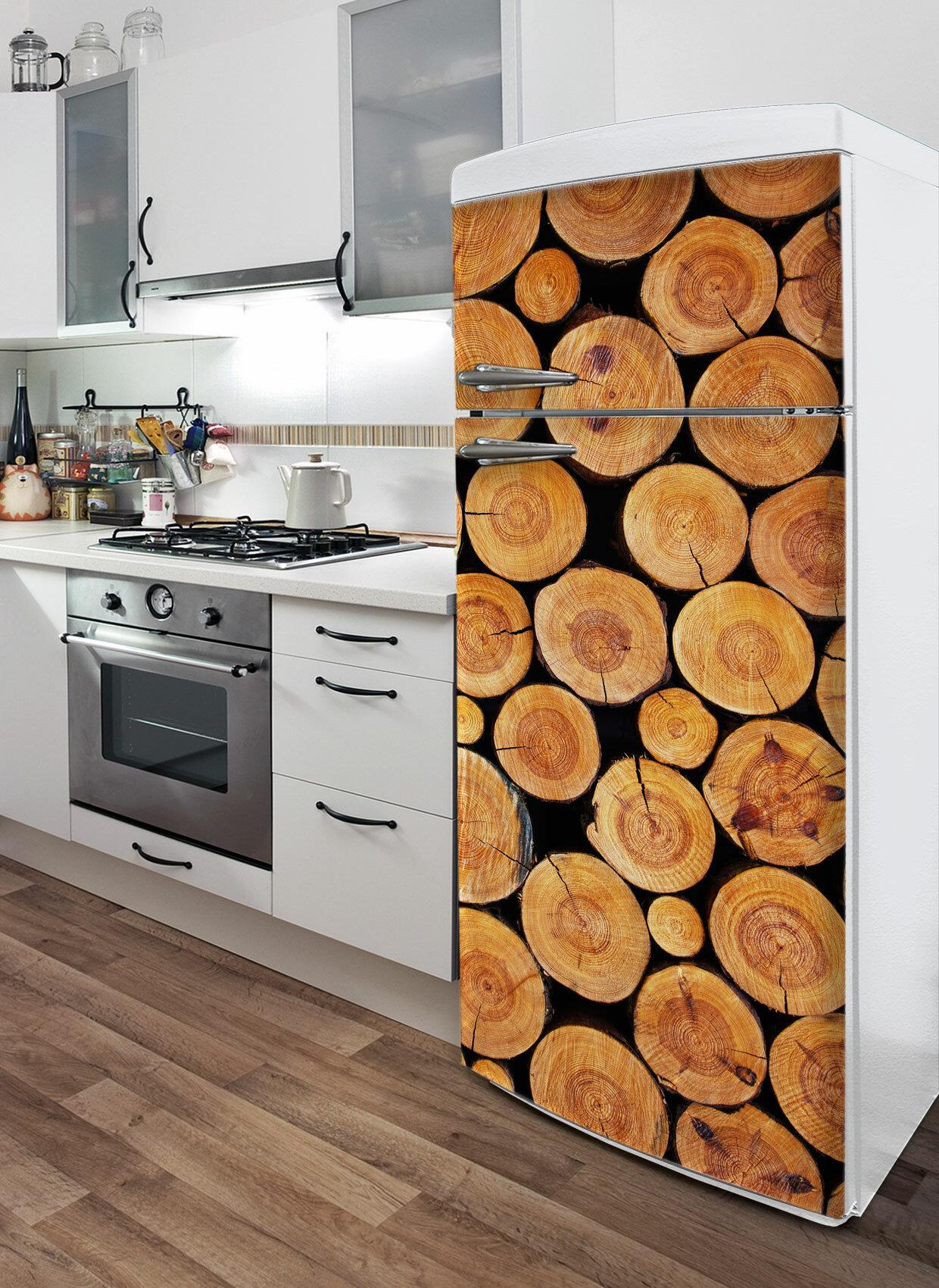 Ebern Designs Little Logs Wall Mural Wayfair