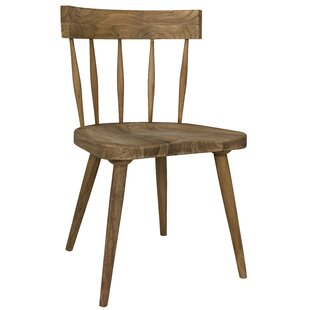 Esme Solid Wood Dining Chair Noir