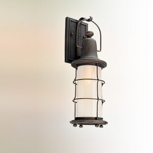 Affordable Farrell 1-Light Outdoor Wall Lantern By Longshore Tides