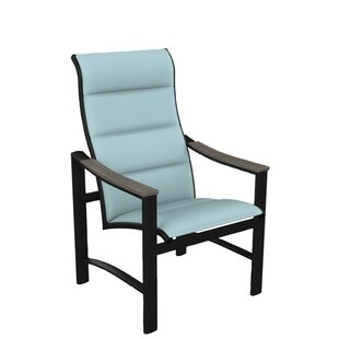 Brazo Padded Sling High Back Patio Dining Chair