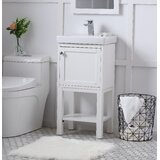 Chincoteague Single Bathroom Vanity Set by Zipcode Design™