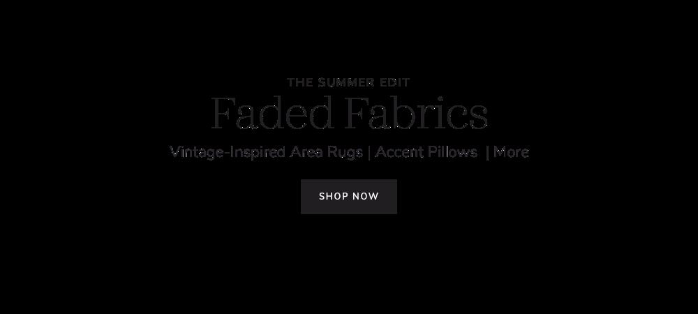 Faded Fabrics