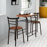 Volmer 3 Piece Compact Dining Set by Zipcode Design™