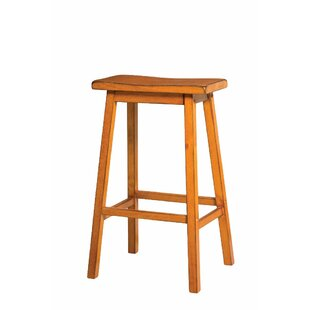 Snowden Wooden 29 Bar Stool (Set of 2) by Bay Isle Home