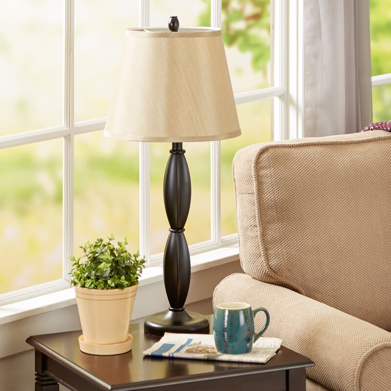 Andover Mills Petrey 3 Piece Table and Floor Lamp Set & Reviews ...