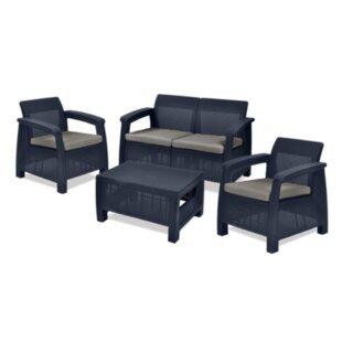 Keter Allibert Corfu Garden Dining Chair Cushion By Sol 72 Outdoor