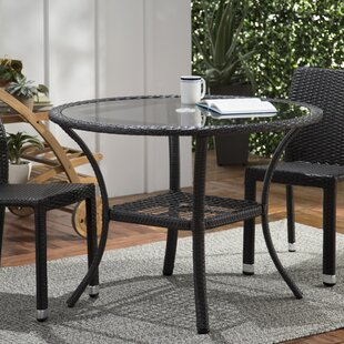 Bennington Wicker Bistro Table