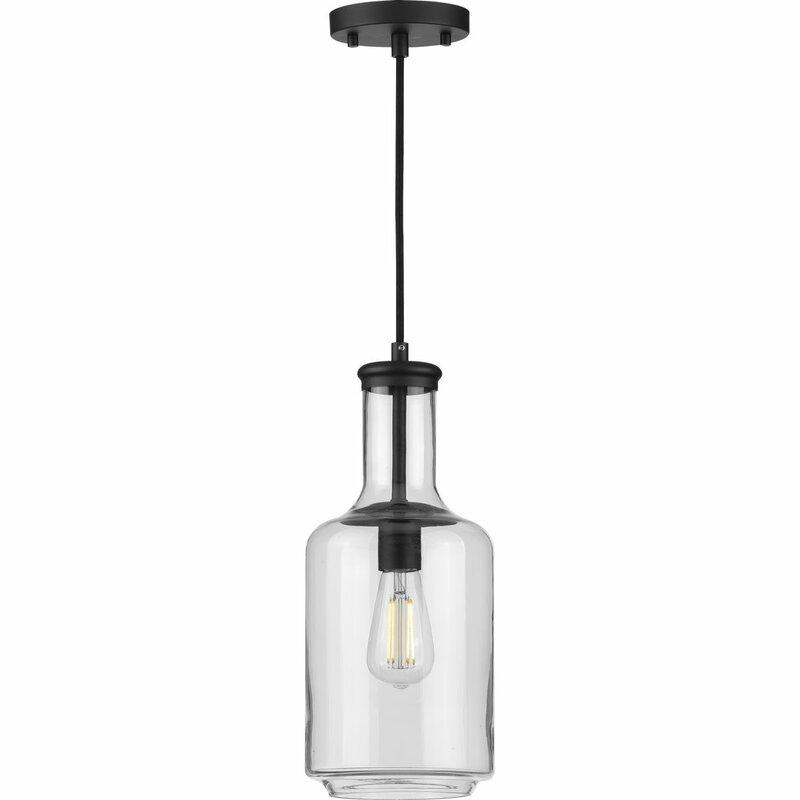 1 Light Single Cylinder Pendant Reviews Joss Main