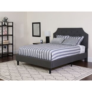Carley Upholstered Platform Bed with Mattress by Charlton Home