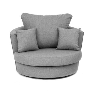 Drayton Swivel Tub Chair By Ebern Designs