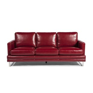 Hitchcock Leather Sofa