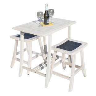 Satori 3 Piece Pub Table Set by EcoDecors