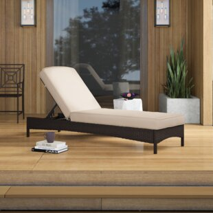 Enjoyable Belton Reclining Chaise Lounge With Cushion Machost Co Dining Chair Design Ideas Machostcouk