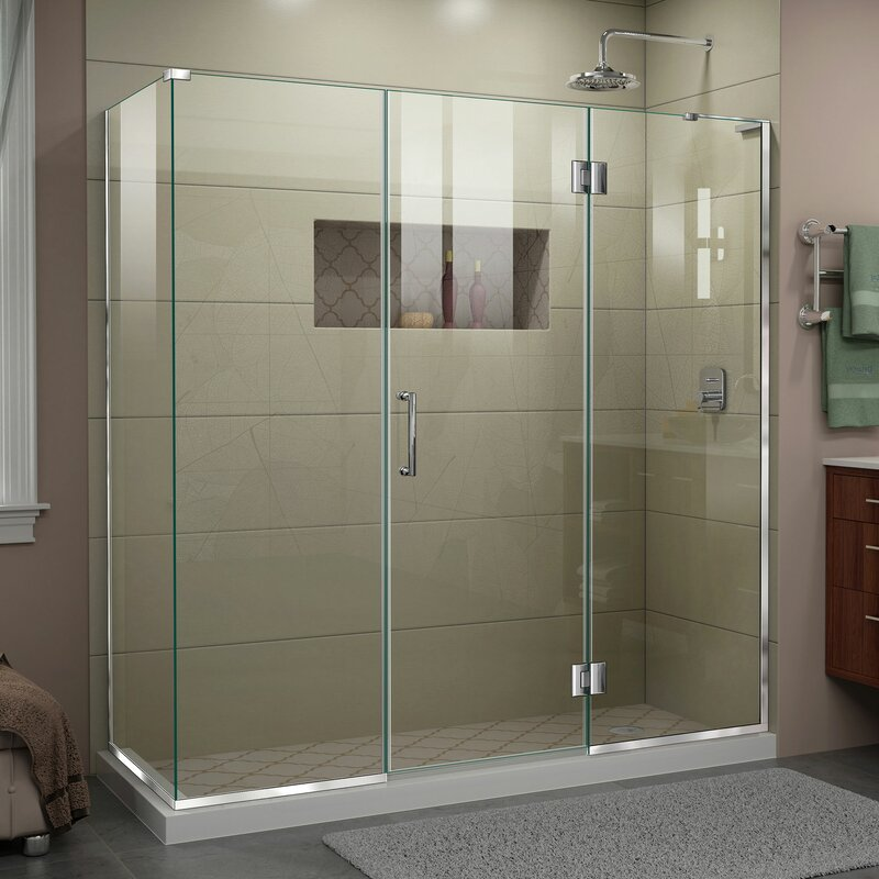 Unidoor X 70 5 X 72 Rectangle Hinged Shower Enclosure By Dreamline Find Best Deal