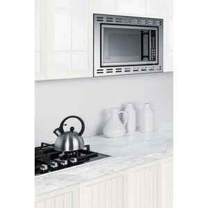 Summit 23.38-inch 1 cu.ft. Built-In Microwave