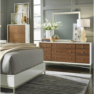 Lynette 9 Drawer Double Dresser with Mirror by Ivy Bronx