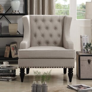 Jewel Wingback Chair by iNSTANT HOME