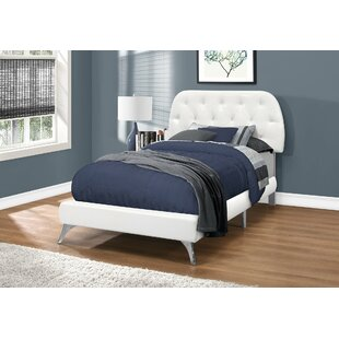 Kizer Upholstered Panel Bed by Ebern Designs