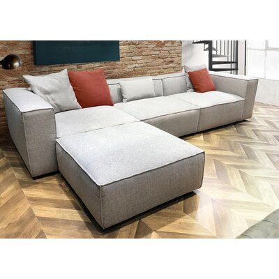 Diamond Sofa Vice Reversible Sectional