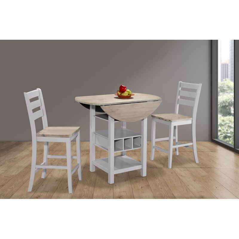 sc 1 st  Wayfair & August Grove Rosaline Counter Drop Leaf Dining Table | Wayfair.ca