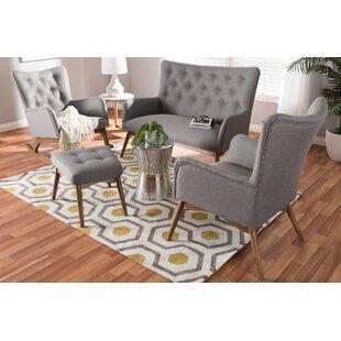 Centreville 4 Piece Living Room Set by George Oliver