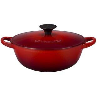 Enameled Cast Iron 1.5-Qt. Soup Pot with Lid