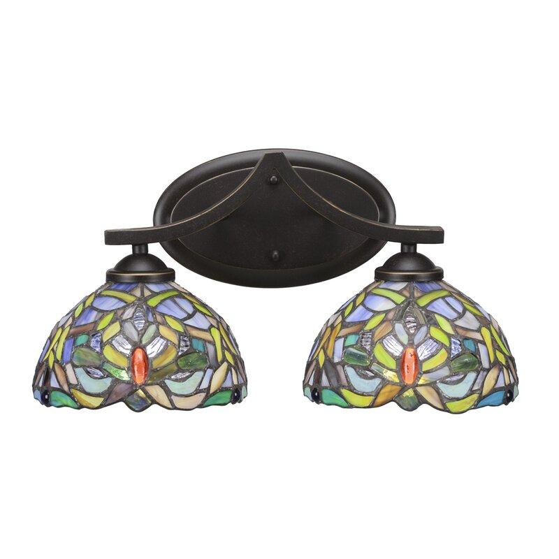 Astoria Grand Pickens 2 Light Vanity Light Wayfair