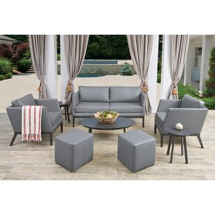 Cammack 8 Piece Sofa Seating Group with Cushions